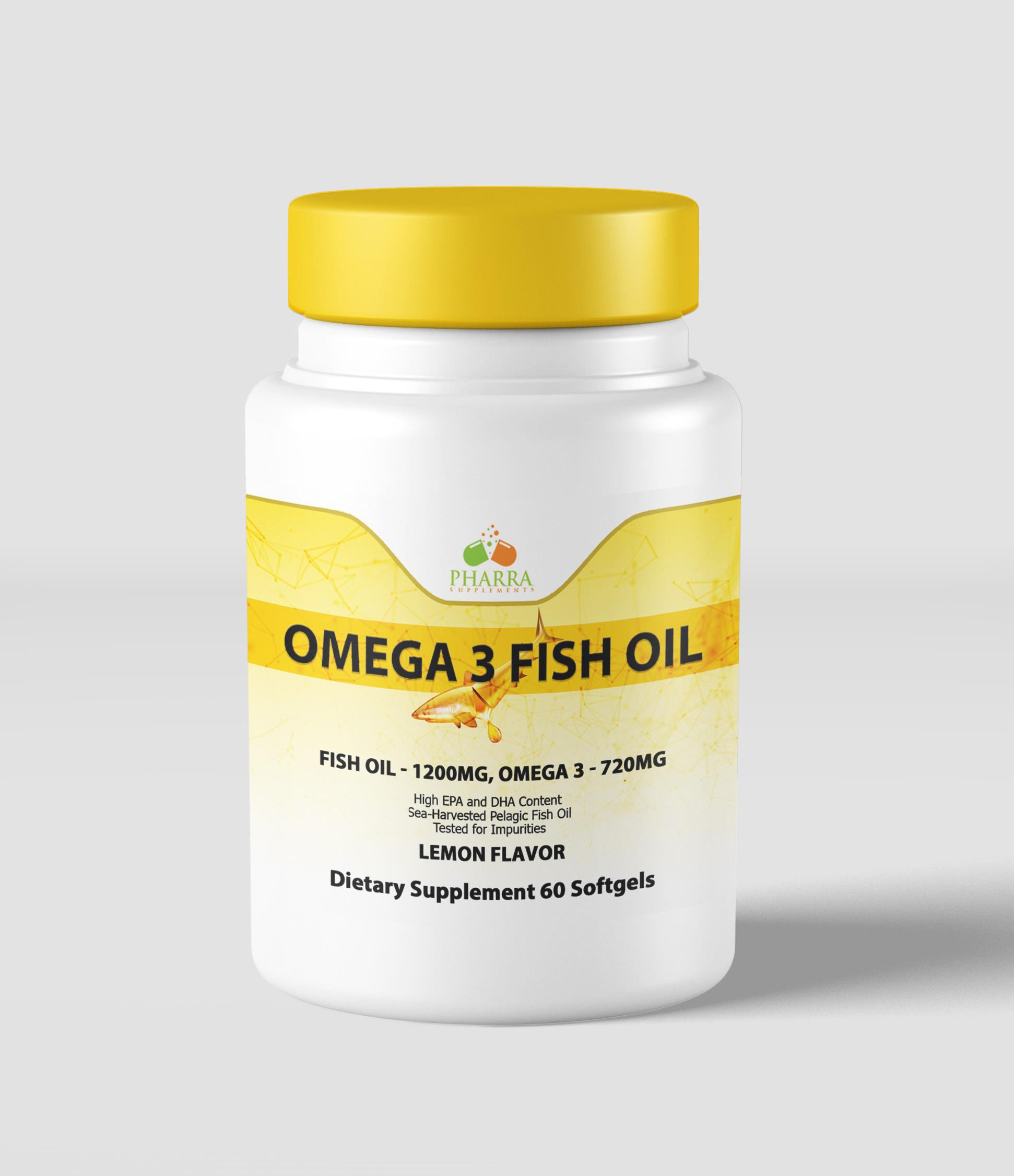 Fish Oil w/Omega 3