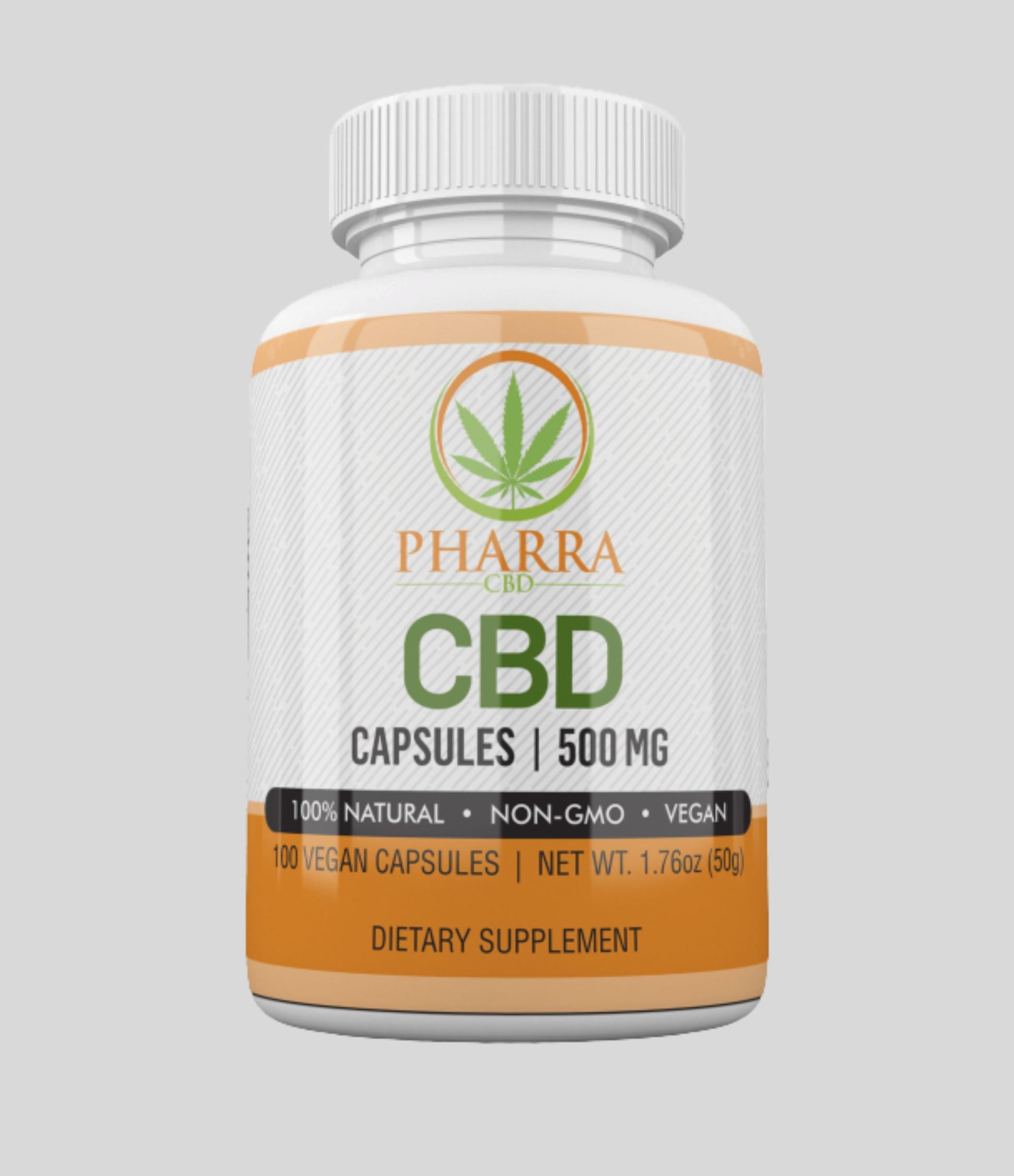 Vegan CBD Capsules